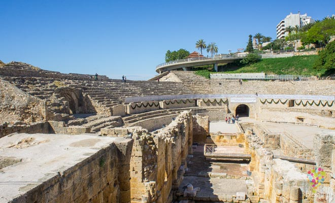 Anfiteatro Tarraco en Tarragona España