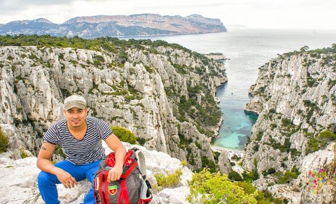 Aristofennes en los Calanques Cassis -Blogtrip blog de viajes