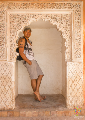 Aristofennes en Marrakech Marruecos-Blogtrip blog viajes