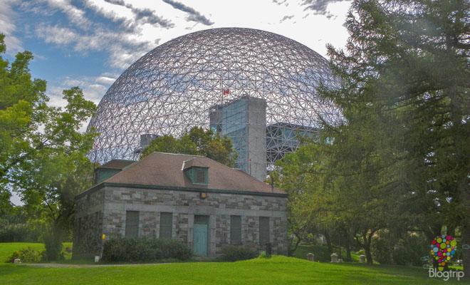 Bio esfera, viajar a Montreal, Quebec Canadá