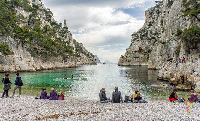Calanques de Cassis parque natural en Francia