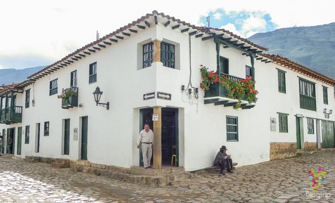 Casas coloniales en Villa de leyva Boyacá