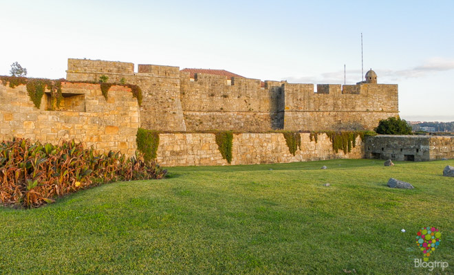 Castillo castelo fuerte San Francisco de Queijo Oporto