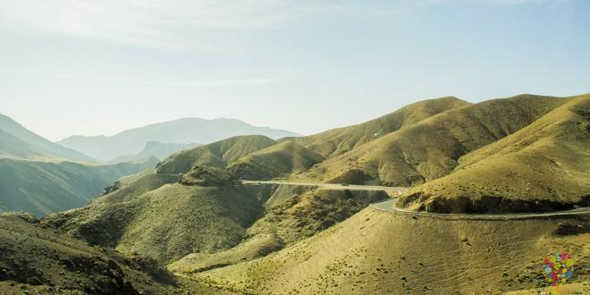Cordillera del Atlas en Marruecos