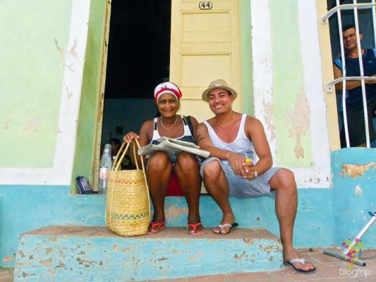 Dormir en casa de cubanos, con doña Julia