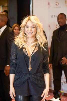 Encuentro con Shakira en París