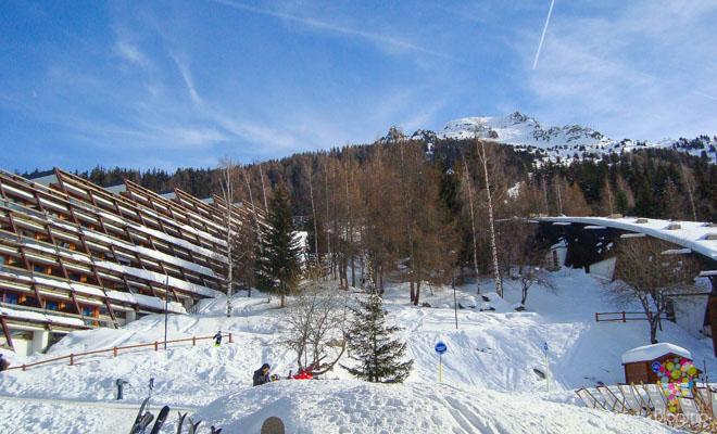 Estación de esquí Les Arcs, Bourg Saint Maurice
