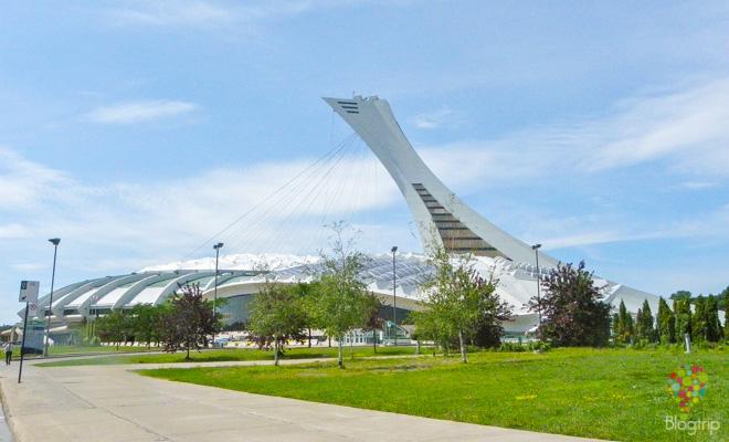 Estadio olímpico de Montreal Canadá