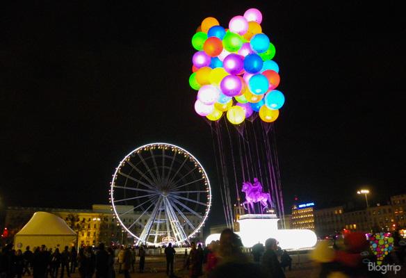 Viaje a la fiesta de la luz en Lyon Francia