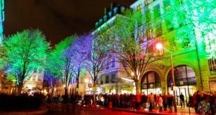 Fiesta de las luces en Lyon Francia