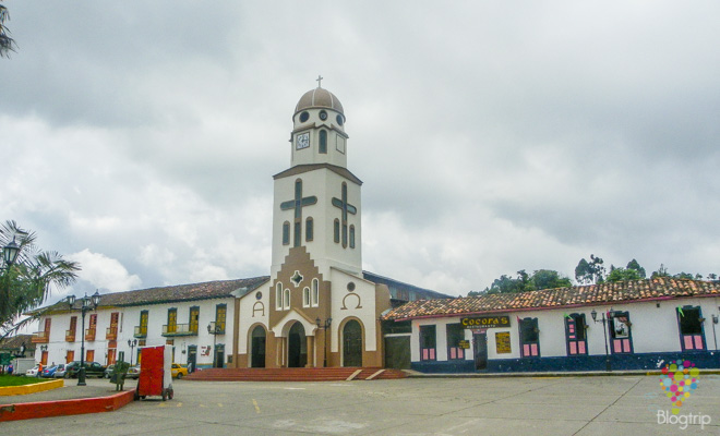 Fotografía de Salento Colombia en la región del café