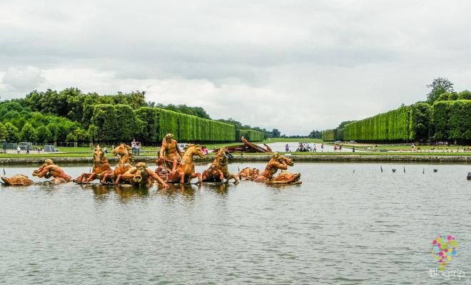 Fuente de Apolo - palacio de Versalles Francia