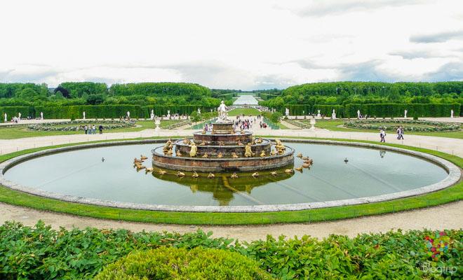 Fuentes y jardines a visitar en el palacio de Versalles