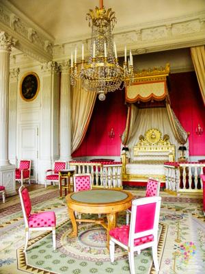 Habitación del rey, en el castillo de Versalles