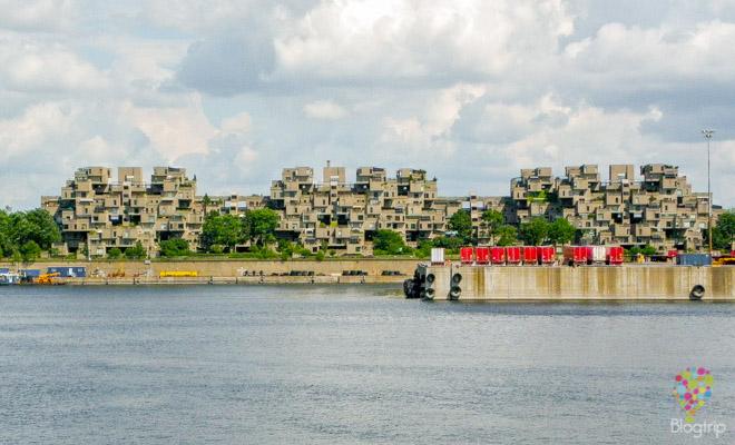 Habitat 67 , complejo de vivienda en Montreal