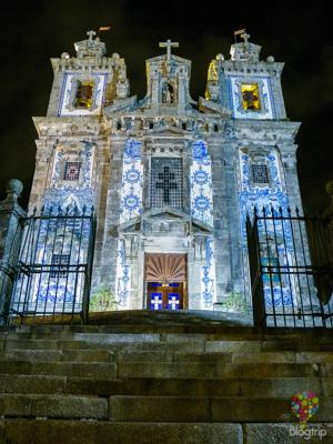 Iglesia de San Idelfonso Oporto Portugal