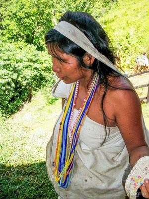 Indígenas tayronas y kogui en Santa Marta