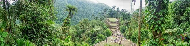 Llegar a la ciudad perdida Tayrona en Colombia
