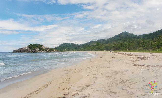 Mejores playas del parque Tayrona en Santa Marta