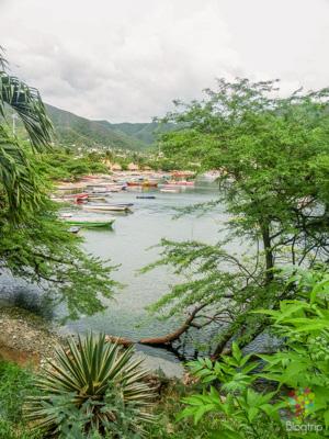 Paisaje y caminata en Taganga Colombia