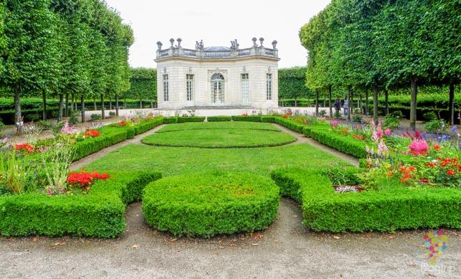 Palacio pequeño Trianon en Versalles Francia