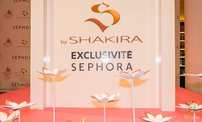 Perfume S de Shakira evento en París Francia