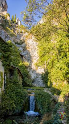 Pueblo de Castellane en Verdon Francia