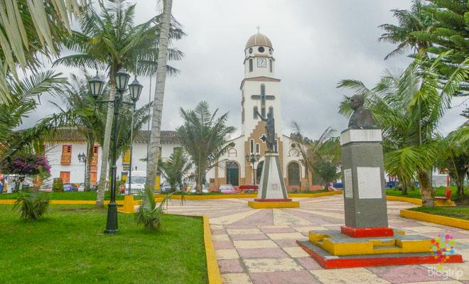 Pueblo de Salento Quindío en Colombia