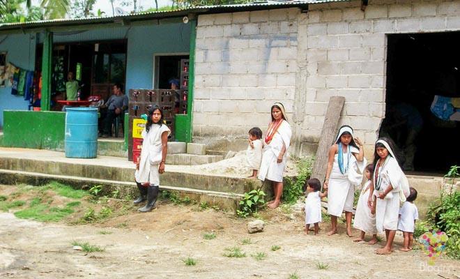 Pueblo de Machetes - comunidad indígena Tayrona-kogui