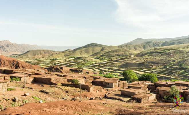 Pueblos y casbas en un viaje a Marruecos