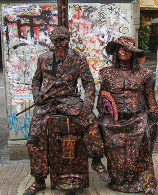 Street art, arte callejero en Barcelona