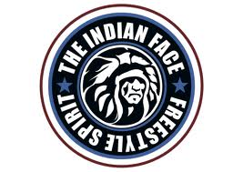 Tienda The indian face logo