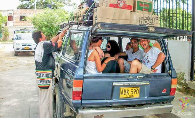 Transporte, cómo llegar a la ciudad perdida Tayrona
