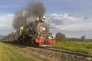 Tren de la sabana de Bogotá a Zipaquirá