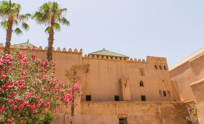 Tumbas saudíes en Marrakech Marruecos