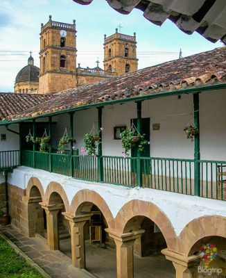 Turismo colonial en Barichara Colombia