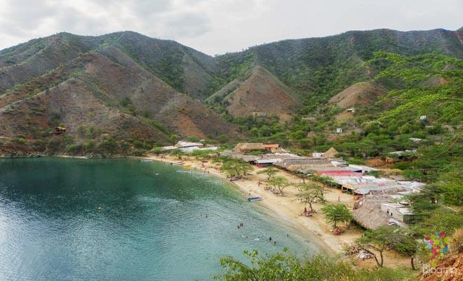 Viajar a Taganga, parque natural Tayrona