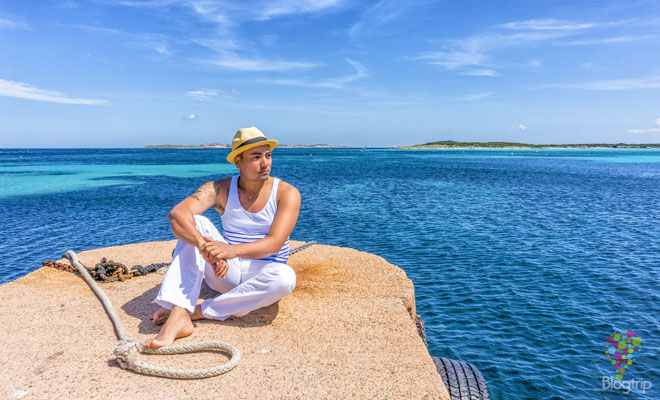 Viajar a la playa de piantarella Córcega blogger de viajes