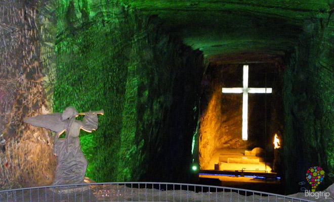 Visita de la catedral de sal de Zipaquirá Colombia