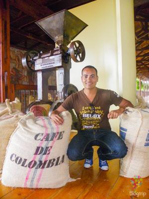 Visita al parque nacional del café en Colombia