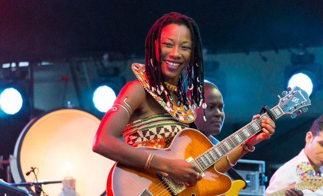 Fatoumata Diawara en vivo