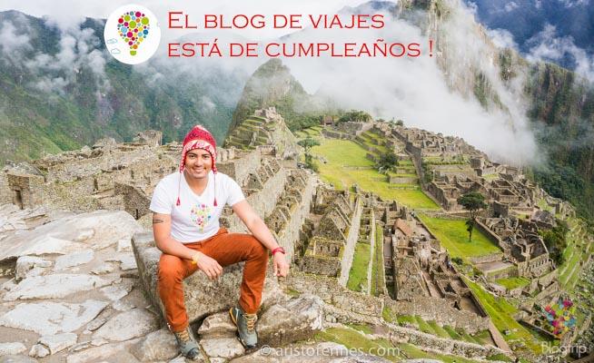 Aniversario de Blogtrip blog de viajes