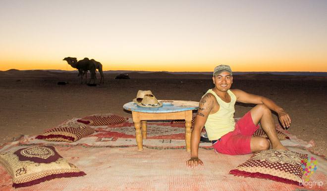 Aristofennes en el desierto del Sahara Marruecos- Blogrtip blog viajes
