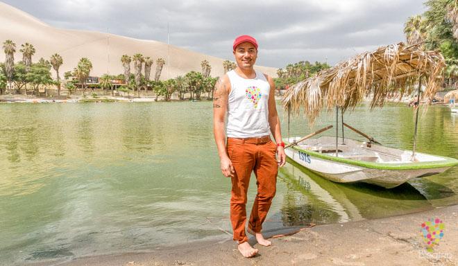 Aristofennes en el oasis de la Huacachina- Blogtrip blog de viajes