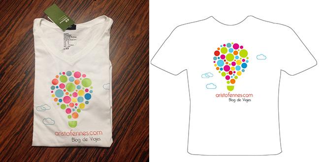Las camisetas oficiales del blog de viajes