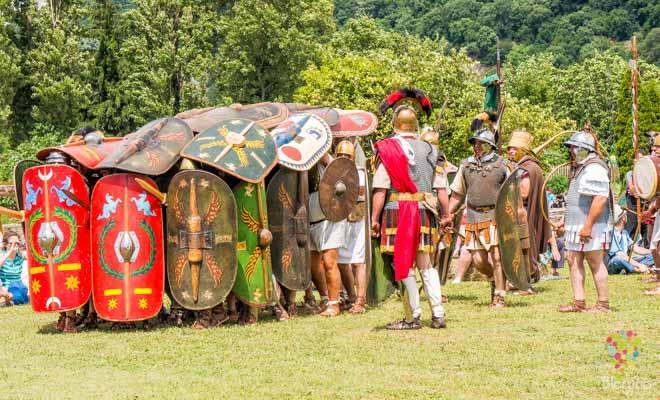 Batalla de gladiadores museo de Vienne Francia