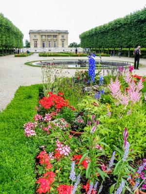 Castillo pequeño Trianón en Versalles