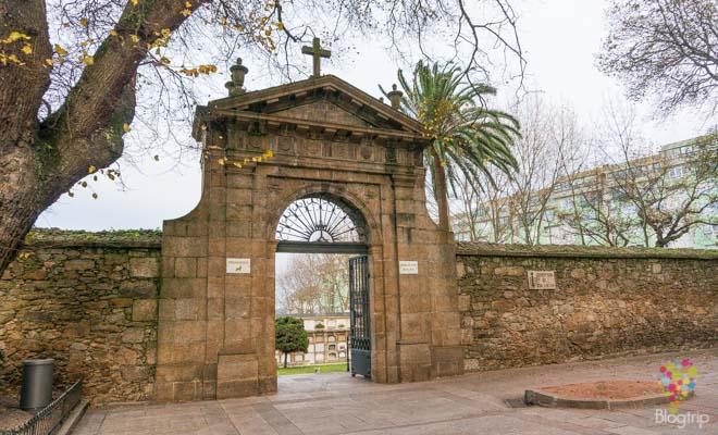 Cementerio de San Amaro La Coruña Espana