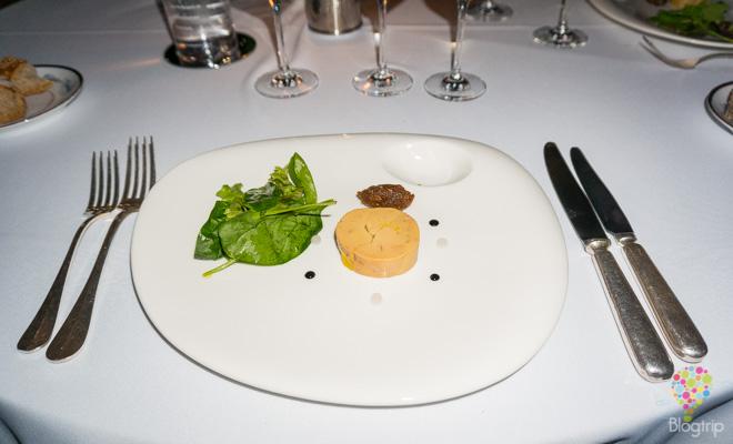 Cocina de Francia, fois gras en salsa de brevas