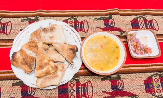 Cocina peruana: sopa de Quinoa